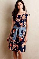 $138 Anthropologie Evaline Dress Small Medium By Maeve Runs Big