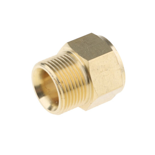 Pressure Washer Connector 22mm Female to 22mm Male Brass Coupling Quality