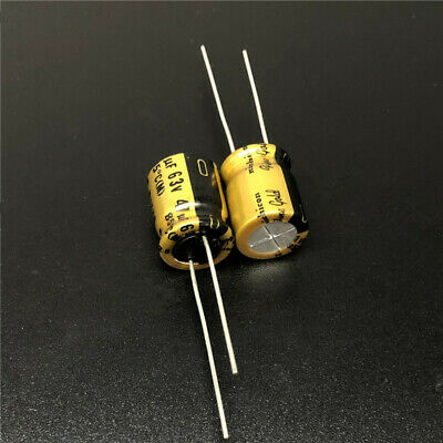 10pcs 16V47uf 16V Nichicon FW standard capacitor 5x11mm for Audio