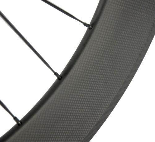 Carbon Wheels Road Bike 38//50//60//88mm Clincher Shimano//Campagnolo Hub 700C Wheel