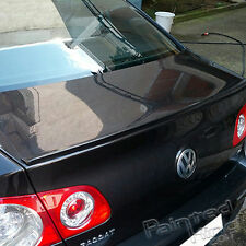 Painted Volkswagen Passat B6 MK6 4DR Trunk Lip Spoiler Color LC8Z/3Q