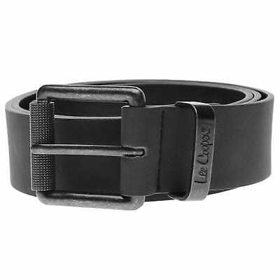 Lee Cooper Pattern Belt Mens Gents