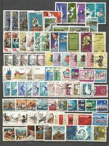 DDR  1968 kompletter gestempelt   Jahrgang