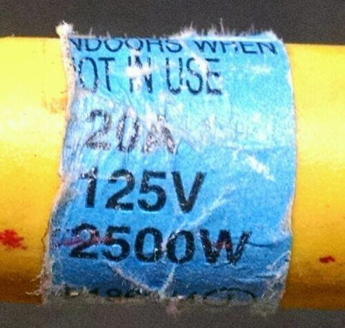 "Construction Generator 2 Cep 1480 2/' 20A Twist Lock /""w/"" Adapter Power supplies"