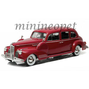 GREENLIGHT-12971-1941-PACKARD-SUPER-EIGHT-ONE-EIGHTY-1-18-DIECAST-LAGUNA-MAROON