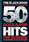 50 Rock and Pop Hits for Buskers: The Black Book by Omnibus Press (Paperback, 2006)