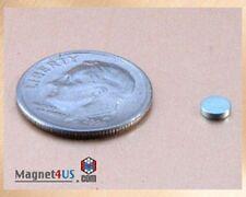 "50 pcs small tiny craft hobbies magnet Disc rare earth Neo 1/8""dia x 1/32""thick"