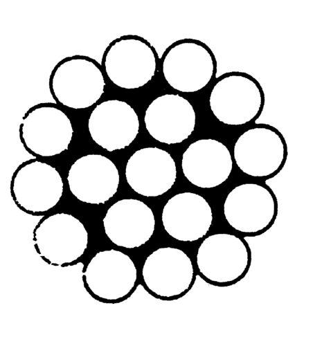 EDELSTAHLSEIL DRAHTSEIL A4 2mm 3mm 4mm 5mm 6mm 8mm RANKHILFE TAUCHPUMPE NIRO