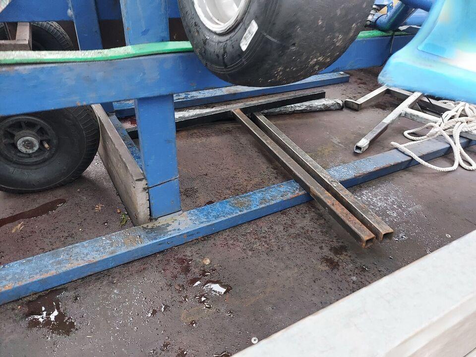 Boogietrailer, Kvik Kvik, lastevne (kg): 550