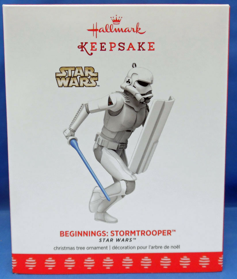 Star Wars Celebration Hallmark Beginnings McQuarrie Stormtrooper Ornament 1 2600