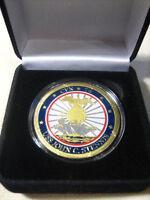 Us Navy Uss John C. Stennis Cvn-74 Challenge Coin W/ Presentation Box