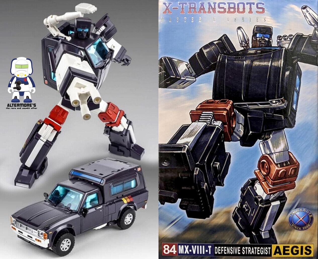 Transformers obra maestra X-TRANSBOTS MX08T Aegis Toon ver MP Trailbreaker sin usar y en caja sellada