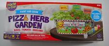 HORIZON PIZZA HERB GARDEN PAINT AND GROW KIT AGES 6+ INDOOR GROWING CONTAINER