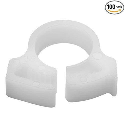 Plastic Hose Clamps >> 100 Snappers Plastic Hose Clamps Snp410c2 For 7 16 Od Hellerman Tyton Snp4
