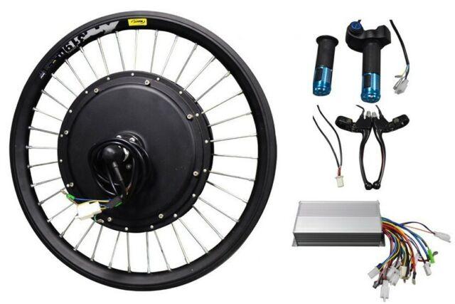 Model 20 Inch 48v 500w Front Wheel E Bike Conversion Kit Usa Stock