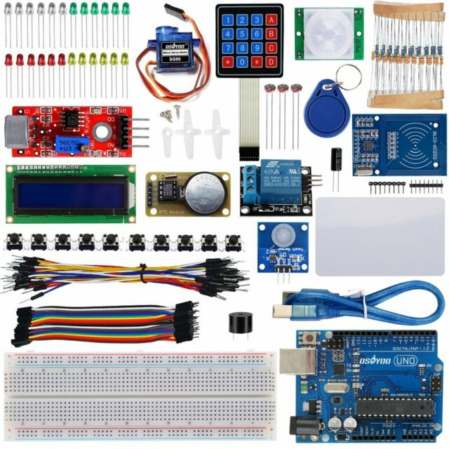 CA RFID Master Starter Kit UNO R3 Board  Ultimate DIY Learning for Arduino