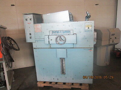 Washer Edro Dyna Wash Model Dw 1000c Three Pocket End Loader Extractor Non-Ironing