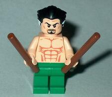 SUPER HERO #03 Lego Ra's Al Ghul' NEW Custom Batman ras Genuine Lego Parts