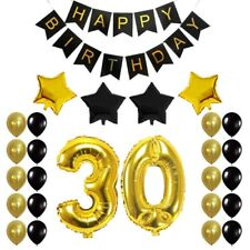 30th Birthday Party Decoration Sets Number Balloons 30 Year Old Supplies