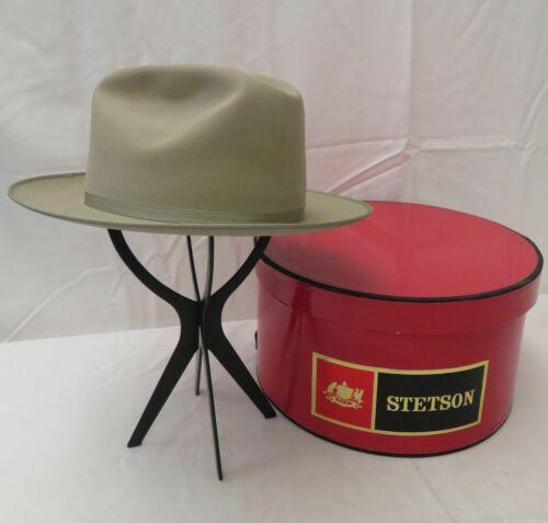 In Original Box - Men's Stetson Beige Western Fedo