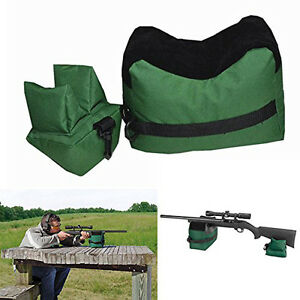 Portable Outdoor Soft Shooting Rear Gun Rest Bag Rifle Target Unfilled Hunting H
