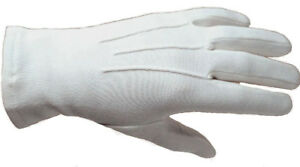 Ceremonial-White-Dress-Gloves-Parade-Masonic-Services-XS-to-XXL-Sizes-Available