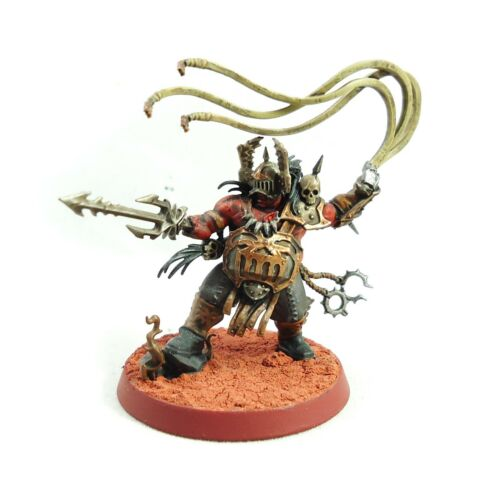 Warhammer Army FantasyAge Of Sigmar Daemons Of Khorne Bloodstoker Painted