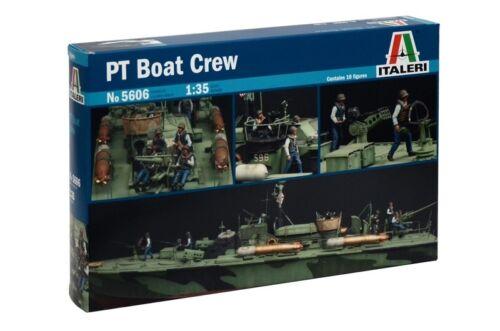 Italeri 1//35 PT Boat Crew # 5606