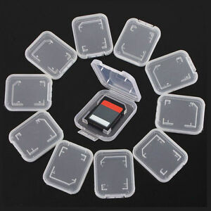 10-X-Transparent-Standard-SD-SDHC-Memory-Card-Case-Holder-Box-Storage-Plastic