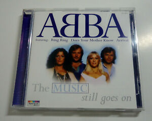 ABBA-The-Music-still-goes-on-16-Tracks-CD-1996-Karussell-Spectrum-Music