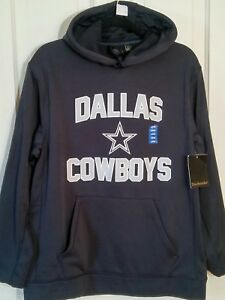 new arrive b0a69 a89c9 Authentic NFL DALLAS COWBOYS JERSEY NAVY BLUE HOODIE ...