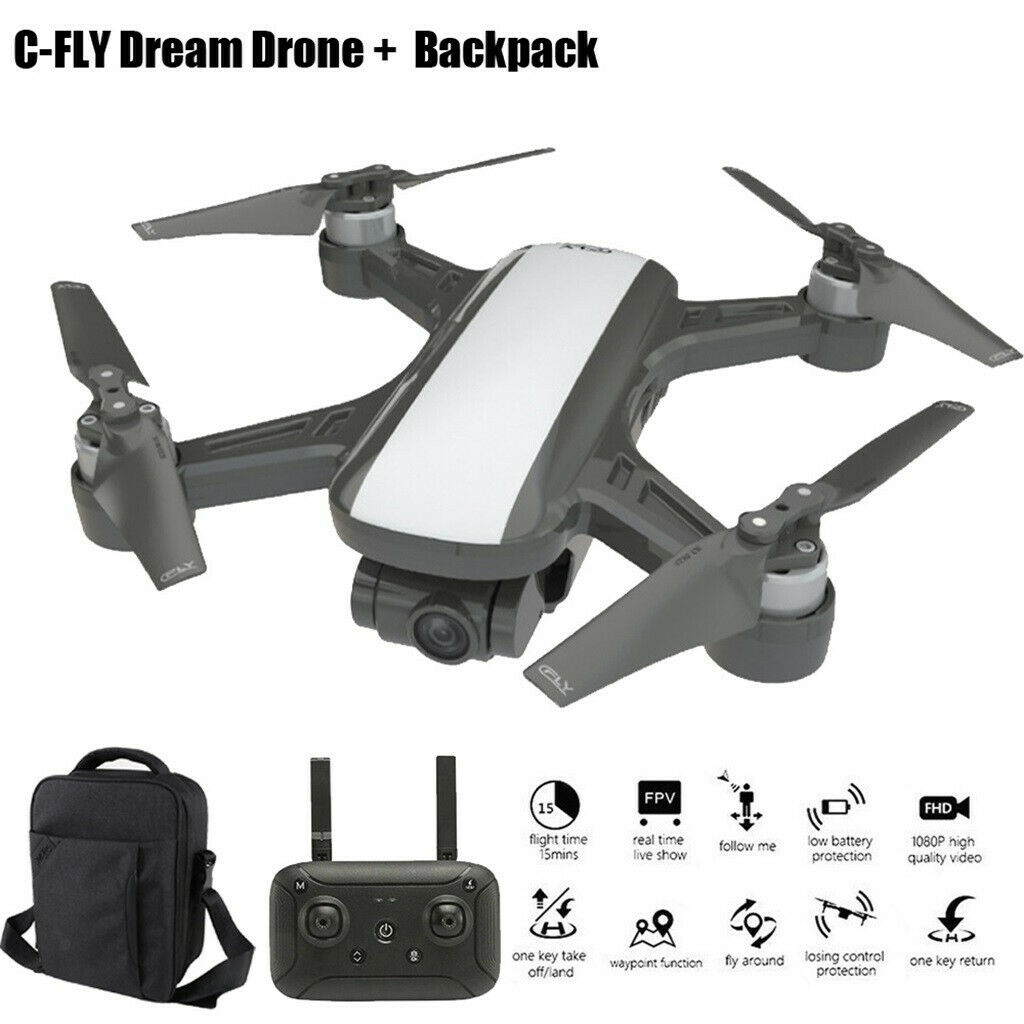 C-Fly Drone  With 2-Axis Gimbal 5G WIFI GPS 1080P FPV telecamera Brushless Quadcopter  qualità garantita