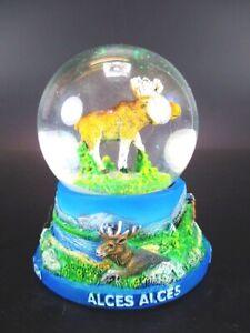 Snow-Ball-Moose-Moose-Snowglobe-Souvenir-Sweden-Finland-Norway