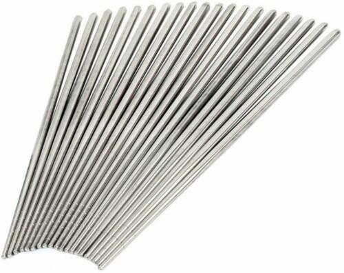 5 Pairs Stainless Steel Reusable Chopsticks Metal Korean Chinese Chopsticks USA