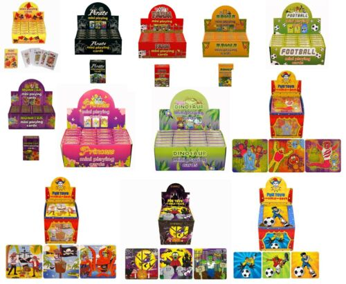BAG GIFTS//TOYS Loot MINI PUZZLES /& PLAYING CARDS Favors//Favours PARTY