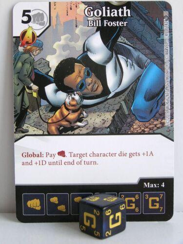 Marvel Dice Masters Civil War 2x #041 Goliath Bill Foster