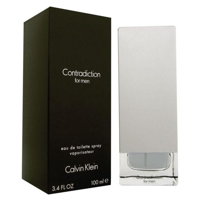 Toilette Eau Calvin Klein De Men For Contradiction 100ml QdtshrC