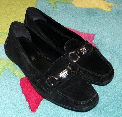 Weich Schwarz Top Mokassin Geox 4 Loafer Gr 37 Slipper Damen Schuhe Leder np0AqA4Ow