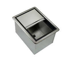 "Krowne Metal D278-7 20"" Drop-In ice Bin W/ 50 lb Ice Capacity W/ Cold Plate"