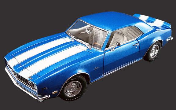 cómodo 1968 1968 1968 Camaro Z28 Lemans Azul 1 18 1805702  nuevo listado