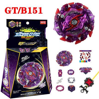 BeyBlade Metal Burst GT B-151 Longinus Starter Top W// Launcher Kid Xmas Gift Toy