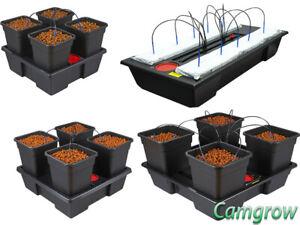 Wilma 4 Pot Big 18L Pots Dripper System Hydroponics