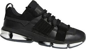 Adidas Twinstrike ADV Stretch Leather Sneaker Gr. 36-46 Leder Schwarz NEU