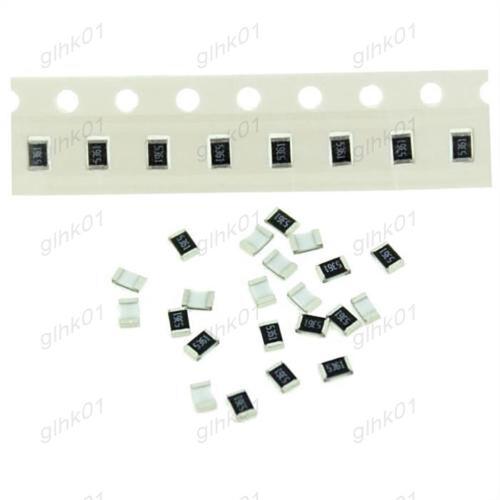 100Pcs 0201 SMD Resistors 1//20W 0.05W 10Ω-1MΩ Ohm ±5/% Full Range Of Values