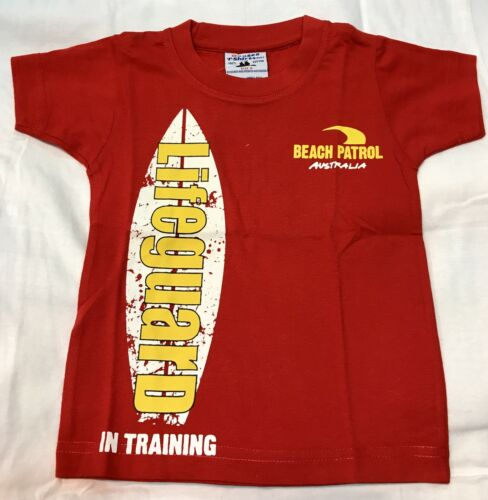 Details about  /Kid Boy /& Girl AUSTRALIA FUNNY LIFEGUARD IN TRAINING  SOUVENIR T-shirt All Sizes