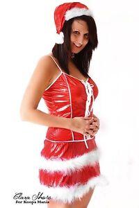 Ensemble-SEXY-tenue-MERE-NOEL-costume-Santa-NEUF