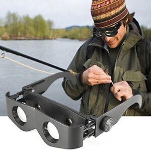 HO-AU-Hand-Free-Outdoor-Fishing-Binoculars-Telescope-Glasses-Eyeglasses-Black