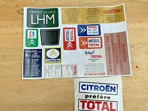 CITROEN-DS-ID-SM-Engine-sticker-set-DS21-DS23-DS19-DS20-ID19-ID20-PALLAS