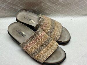Connie Women's Open Toe Slide Sandal Shoes Summery
