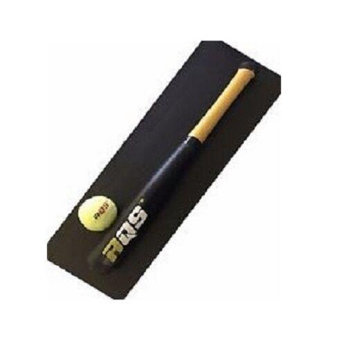 Batte de baseball en bois baseball solide Construction au BASEBALL BAT noir 18 in environ 45.72 cm